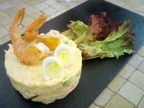 Tapa de Ensaladilla de la casa