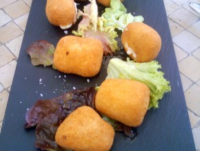 Tapa de Croquetas caseras