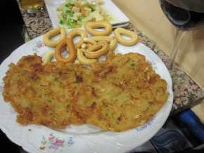 Tapa de Tortillitas de camarones