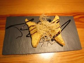 Tapa de Crunch de Brie con Guayaba